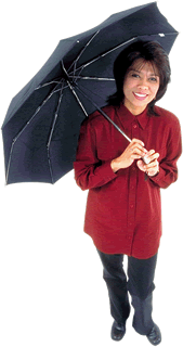 People Asian woman with umbrella 1 - Commercial Lines